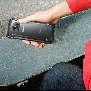 Accessories - Galaxy S7 Edge Black & Frost Cover Case